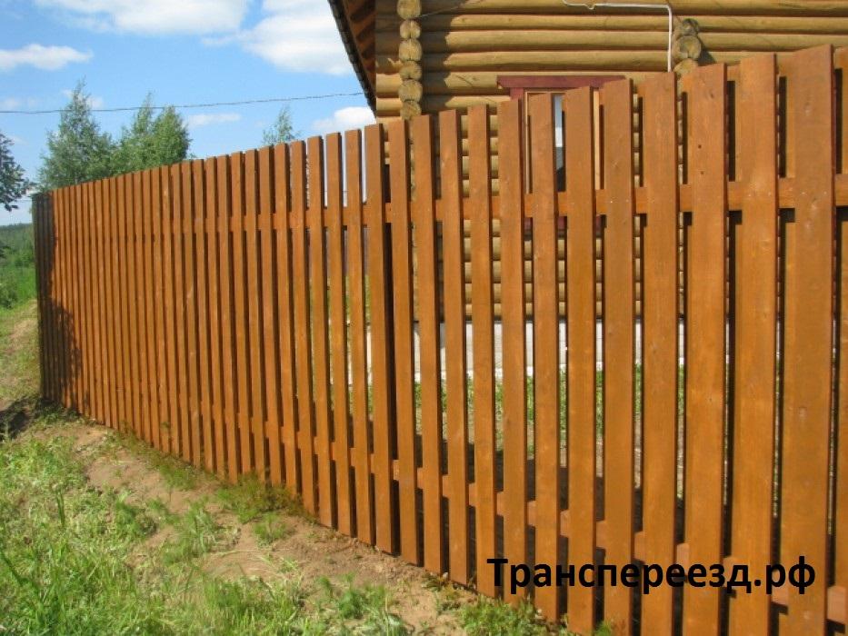 деревянный забор ярославль